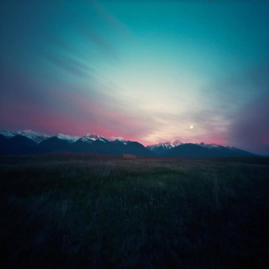 Moonrise in Big Sky Country II